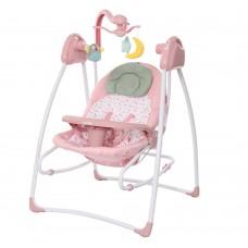 Детская колыбель-качели Carrello Grazia CRL-7502 Bow Pink