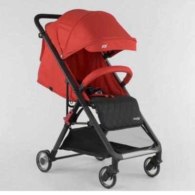Детская прогулочная коляска JOY 80747 Красная