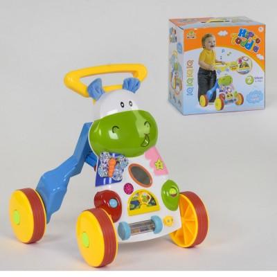 Детская каталка-ходунки 83570 Бегемотик