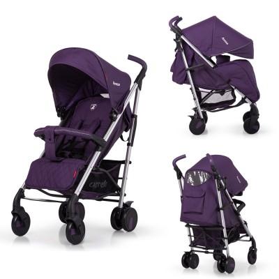 Детская прогулочная коляска CARRELLO Arena CRL-8504 Ultra Violet в льне алюминий