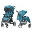 Детская прогулочная коляска CARRELLO Unico CRL-8507 Water Blue + дождевик