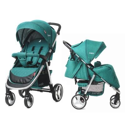 Детская прогулочная коляска CARRELLO Unico CRL-8507 Avocado Green + дождевик