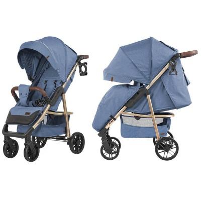 Детская прогулочная коляска CARRELLO Echo CRL-8508/2 Azure Blue + дождевик