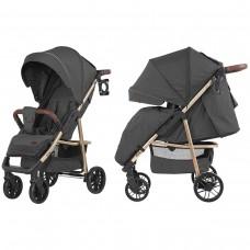 Детская прогулочная коляска CARRELLO Echo CRL-8508/2 Midnight Gray + дождевик