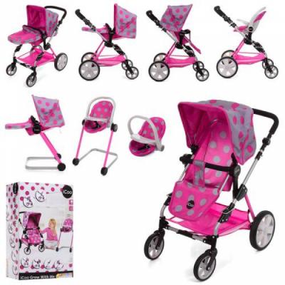 Детская коляска для кукол 5 в 1 D-88848