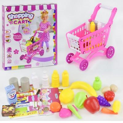 Детский игровой набор Магазин Тележка с продуктами 922-09