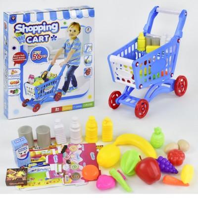 Детский игровой набор Магазин Тележка с продуктами 922-10