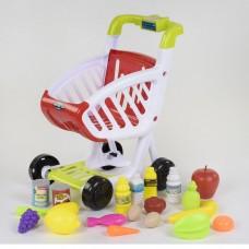 Детский игровой набор Магазин Тележка с продуктами 922-75