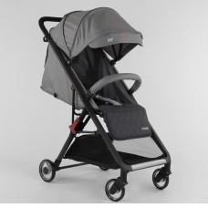 Детская прогулочная коляска JOY 92400 Серая
