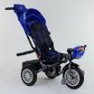 Детский трехколесный велосипед Best Trike 9288 B - 3105 с поворотным сидением + пульт СИНИЙ
