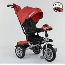 Детский трехколесный велосипед Best Trike 9288 B - 3696 с поворотным сидением + пульт КРАСНЫЙ