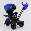 Детский трехколесный велосипед Best Trike 9500 - 7820 с поворотным сидением СИНИЙ (синяя рама)