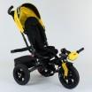 Детский трехколесный велосипед Best Trike 9500 - 8225 с поворотным сидением ЖЕЛТЫЙ