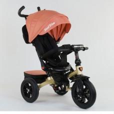 Детский трехколесный велосипед Best Trike 9500 - 9035 с поворотным сидением ОРАНЖЕВЫЙ