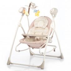Детская колыбель-качели 3 в 1 BT-SC-0005 Beige Dot
