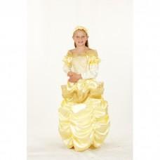 Карнавальный костюм Принцесса в золотом
