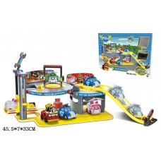 Детский игровой гараж паркинг XZ-155 Robocar Poli
