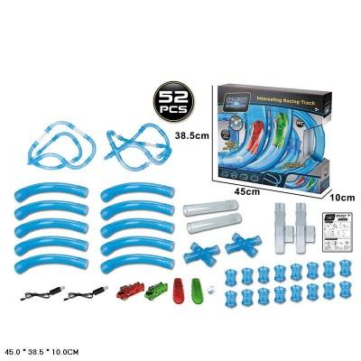 Автотрек трубопроводный Chariots Speed Pipes 022-4 52 детали