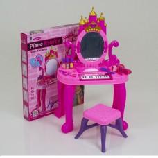 Детское трюмо для девочки 661-36 с пианино