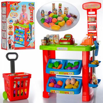 Детский игровой набор Магазин с тележкой 661-80
