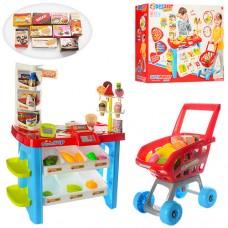 Детский игровой набор Магазин 668-22 с тележкой