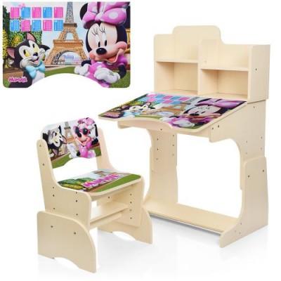 Детская парта W 2071-7-3 Minnie Mouse