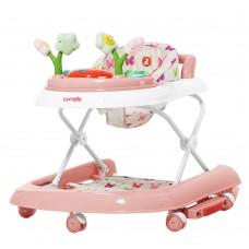 Детские ходунки CARRELLO Fiore CRL-9606 Rose 3 в 1