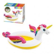 Детский надувной бассейн 57441 Intex Единорог