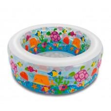 Детский надувной бассейн 58480 Аквариум