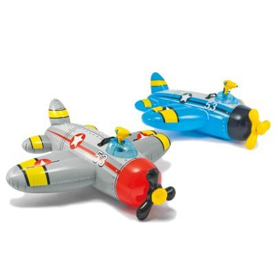 Детский надувной плотик 57537 Intex Самолет