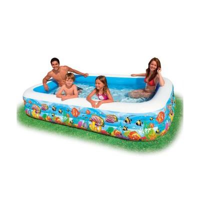 Надувной семейный бассейн 58485 Intex Океанский Риф