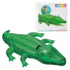 Детский надувной плотик 58546 Крокодил