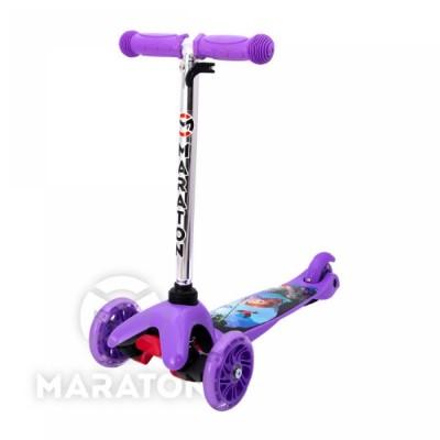 Детский трёхколёсный самокат Maraton Mini Фиолетовый