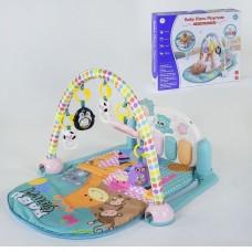 Детский развивающий коврик YL-604 с музыкальной панелью