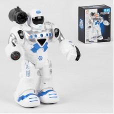 Робот 827-1 (60/2) ходит, стреляет пластиковыми снарядами, проектор, свет, звук, в коробке