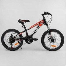 """Велосипед Спортивный CORSO 20""""дюймов 95461 (1) рама металлическая 11'', 21 скорость, собран на 75"""