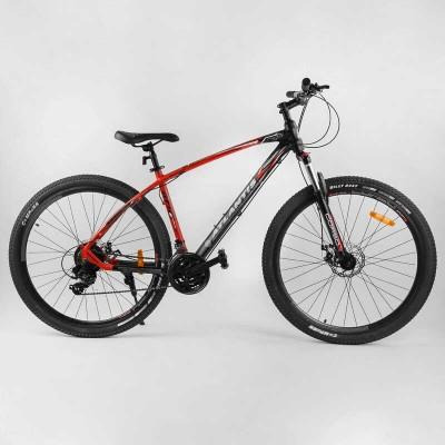 """Велосипед Спортивный CORSO «Atlantis» 29"""" дюймов 79725 (1) рама алюминиевая, оборудование Shimano 21 скорость, собран на 75"""