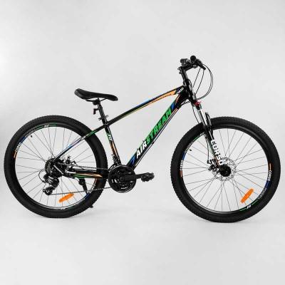 """Велосипед Спортивный CORSO «AirStream» 27.5"""" дюймов 80709 (1) рама алюминиевая, оборудование Shimano 21 скорость, собран на 75"""