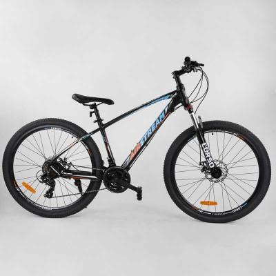 """Велосипед Спортивный CORSO «AirStream» 27.5"""" дюймов 31606 (1) рама алюминиевая, оборудование Shimano 21 скорость, собран на 75"""