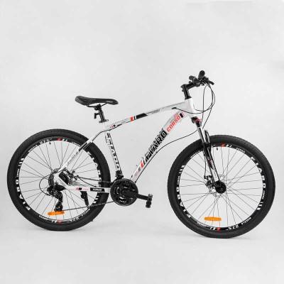 """Велосипед Спортивный CORSO «FIARO» 27.5"""" дюймов 73228 (1) рама алюминиевая, оборудование Shimano 21 скорость, собран на 75"""