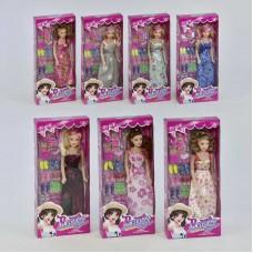 Кукла 9314 В (144/2) с аксессуарами, 1шт в коробке, 5 видов