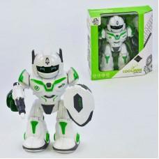 Робот Защитник 605 (48/2) звук, подсветка, аксессуары в наборе, в коробке
