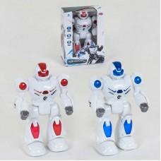 "Робот 9890 (48) ""Play Smart"", 2 вида, ходит, подсветка, звук, в коробке"
