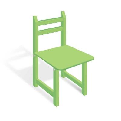гр Стульчик СЦ 001 цвет зеленый, 32см
