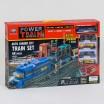 """Железная дорога 2081 (12/2)""""Грузовой поезд"""", на батарейках, 68 элементов, длина путей 762 см, 4 вагона, 4 машинки, свет, аксессуары, в коробке"""