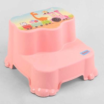 """гр Детский стульчик 30388 (12) """"BIMBO"""", двухступенчатый, нескользящие ножки, PINK"""