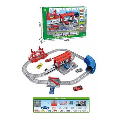 """Железная дорога 888-6 (12) """"Экспресс"""", поезд, 6 машин, в коробке"""